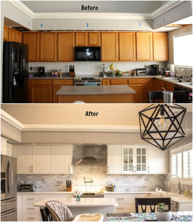 Kitchen Updates Before And After: Our DIY IKEA Kitchen Remodel