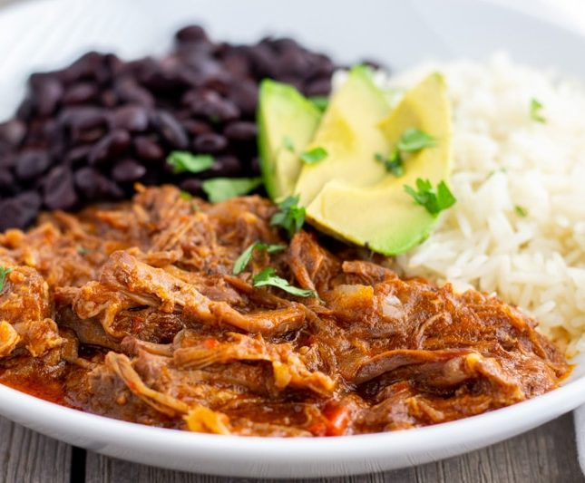 Mexican Pot Roast- Ropa Vieja- Instant Pot or Slow Cooker- ThaiCaliente.com