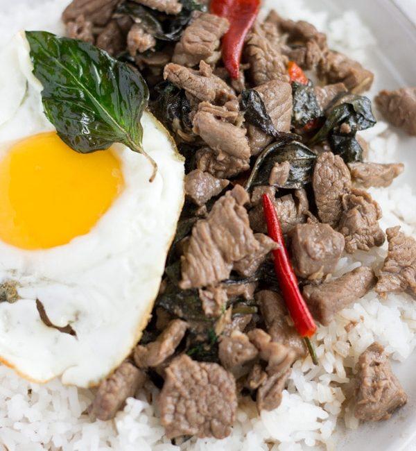 Pad Kra Pao Neu- Thai Beef Basil