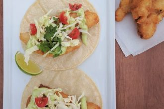 Beer Battered Fish Tacos- thaicaliente.com