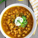 Turkey Pumpkin Chili made in the Instant Pot or Slow Cooker