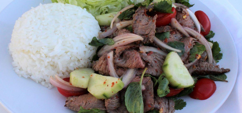 Thai Beef Salad- thaicaliente.com