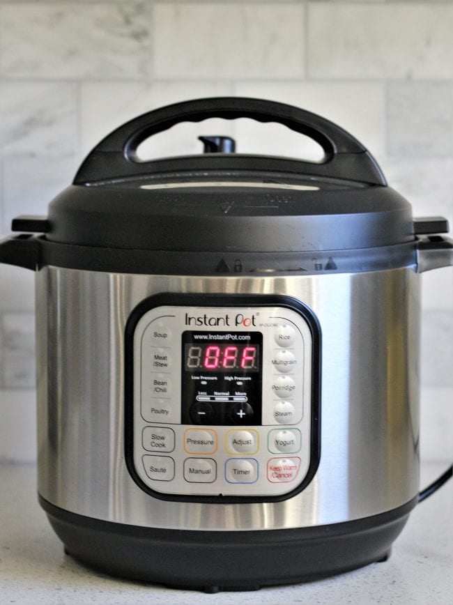 Instant Pot- My Appliance BFF