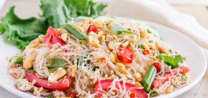 Yum Woonsen- Thai Glass Noodle Salad- thaicaliente.com