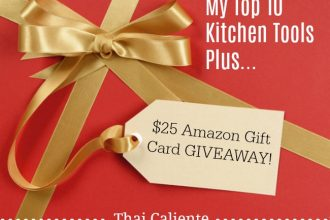Thai Caliente Amazon Gift Card Giveaway
