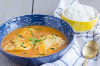 Thai Red Curry Cod