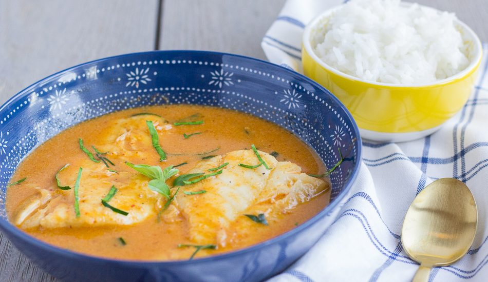 Thai Red Curry Cod