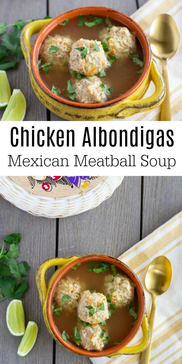 Chicken Albondigas- Mexican meatball soup- Thai Caliente.com