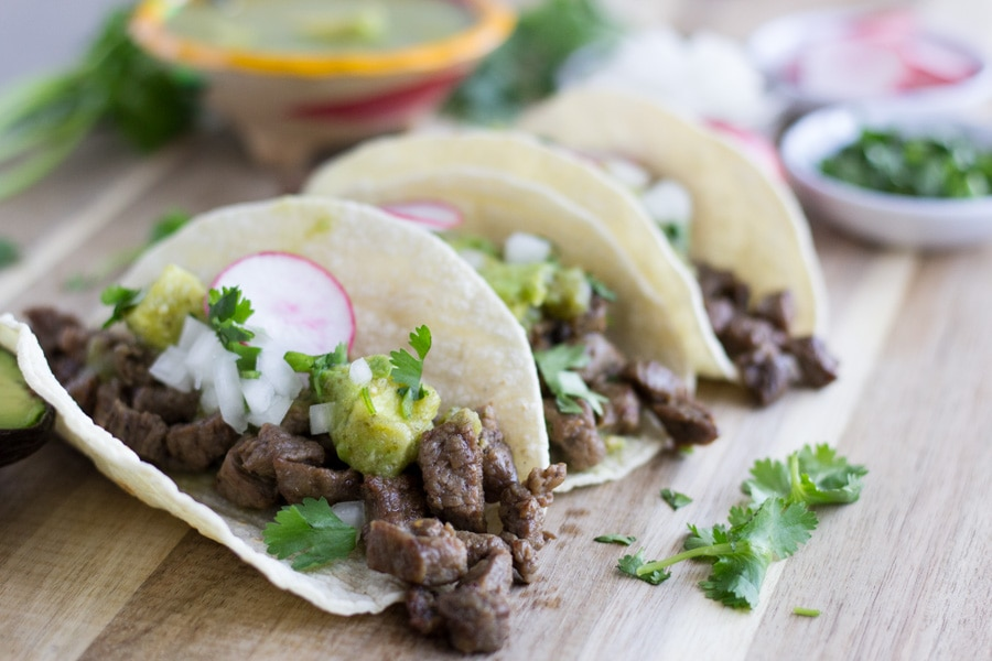 Easy Authentic Carne Asada Street Tacos