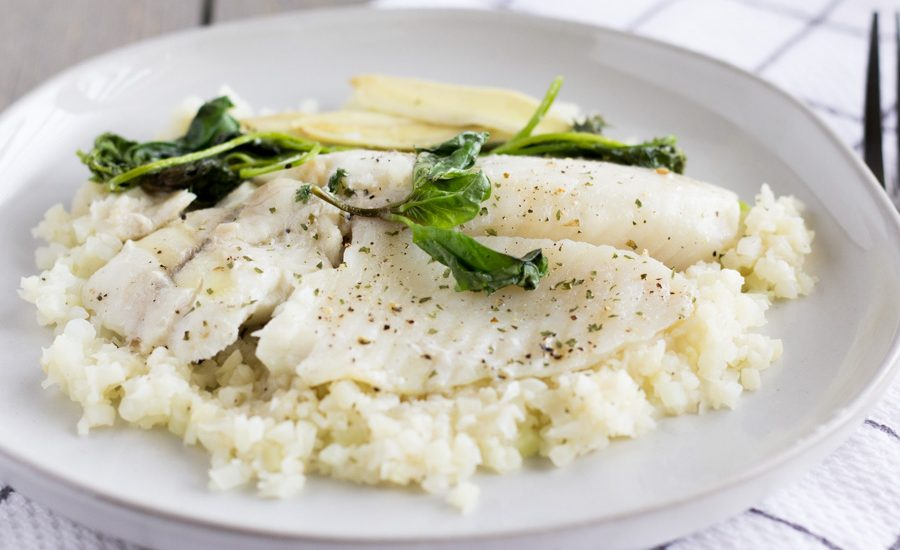 Tilapia Foil Packets With Fresh Herbs
