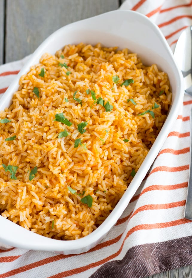 Authentic Mexican Rice- ThaiCaliente.com