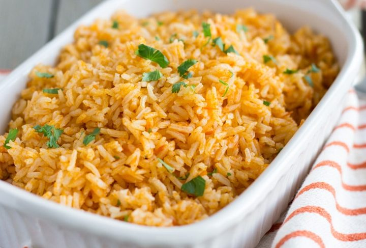 Authentic Mexican Rice- ThaiCaliente.com