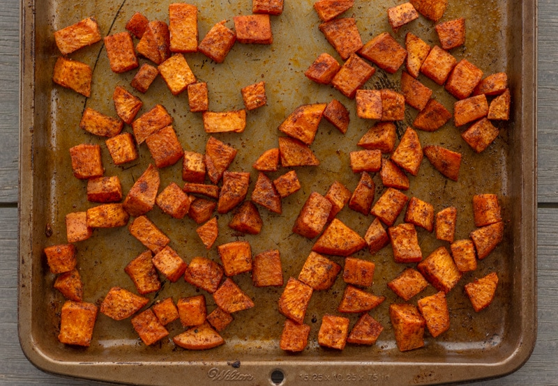 Chili Spiced Sweet Potatoes- ThaiCaliente.com